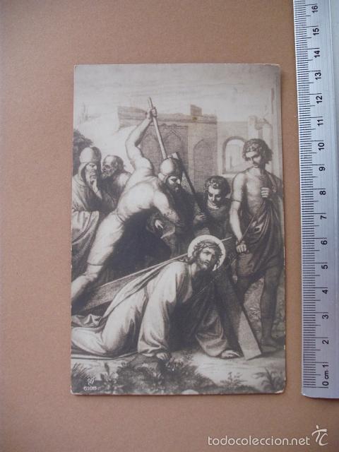Postales: VIA CRUCIS, XIX -XX. 9 POSTALES ED. GG Cº - Foto 9 - 56464498