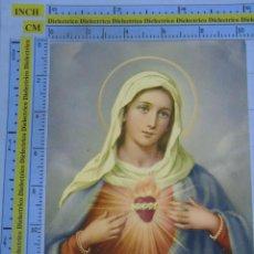 Postales: POSTAL RELIGIOSA SEMANA SANTA. AÑO 1970. SAGRADO CORAZÓN DE MARÍA. 2617. Lote 56540595