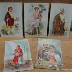 Postales: 5 POSTALES RELIGIOSAS. Lote 56583659