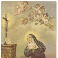 Cartoline: POSTAL DE SANTA RITA DE CASCIA. Lote 56592087