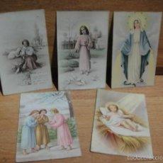 Postales: 5 POSTALES RELIGIOSAS. Lote 56603943