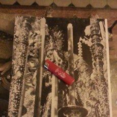 Postales: ANTIGUA IMAGEN DE LA VIRGEN DE LA ESPERANZA MACARENA SEMANA SANTA SEVILLA 31 X 24 . Lote 56639319