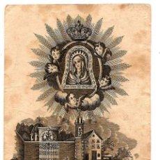Postales: RECORDATORIO NRA. SRA. DE LA CUEVA SANTA VENERADA EN LA VILLA ALTURA (CASTELLÓN) - MUY ANTIGUO. Lote 56705906