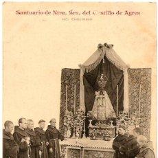 Postales: POSTAL SANTUARIO DE NTRA. SRA. DEL CASTILLO DE AGRES (ALICANTE) - 582 COMUNIDAD - SIN CIRCULAR. Lote 56705915