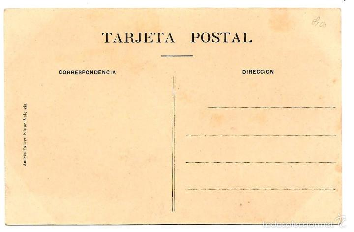 Postales: POSTAL SANTUARIO DE NTRA. SRA. DEL CASTILLO DE AGRES (ALICANTE) - 582 COMUNIDAD - SIN CIRCULAR - Foto 2 - 56705915