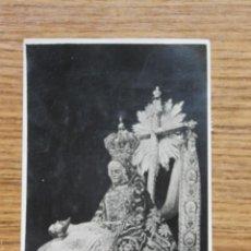 Postales: POSTAL ANTIGUA VIRGEN DE LAS ANGUSTIAS PATRONA DE GRANADA. 1941. Lote 56724443