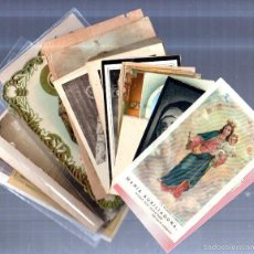 Postales: LOTE DE 25 TARJETAS RELIGIOSAS. VARIAS IMAGENES. VER. Lote 56888109