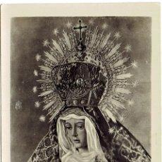 Postales: PS6687 POSTAL RELIGIOSA 'VIRGEN DE LA ESPERANZA'. FOTOGRÁFICA. CIRCULADA. 1948. Lote 56912916