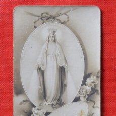 Postales: ESTAMPA O RECORDATORIO RELIGIOSO - EDITADO EN ITALIA - 1942. Lote 57080025