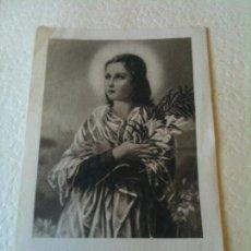 Postales: BEATA MARIA GORETTI,MARTIR DE LA PUREZA. Lote 57152768