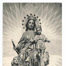 Postales: BARCELONA .- COLEGIO SALESIANO SAN JUAN BOSCO .- IMAGEN MARIA AUXILIADORA .- 1964. Lote 57383248