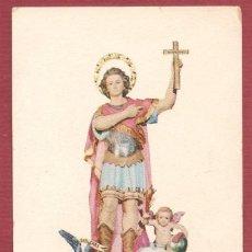 Postales: RECORDATORIO RELIGIOSO PLEGARIA A SAN EXPEDITO PARROQUIA SANTO DOMINGO VALENCIA. Lote 57478959