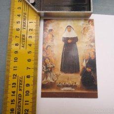 Postales: ESTAMPA RELIGIOSA BEATA SOR ANGELA DE LA CRUZ. Lote 57711465