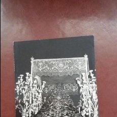 Postales: POSTAL SEMANA SANTA MÁLAGA. 1959. SEPULCRO.. Lote 57766119