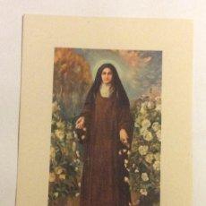 Postales: POSTAL SANTA TERESA DEL NIÑO JESUS. . Lote 57855518