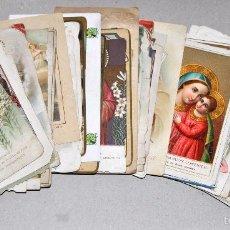 Postales: LOTE DE 59 ESTAMPAS RELIGIOSAS. Lote 57865960