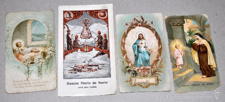 Postales: LOTE DE 59 ESTAMPAS RELIGIOSAS - Foto 2 - 57865960