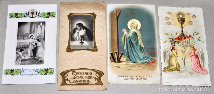 Postales: LOTE DE 59 ESTAMPAS RELIGIOSAS - Foto 7 - 57865960