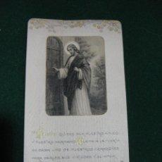 Postales: RECORDATORIO DE 1ª COMUNION - ZARAGOZA AÑO 1909. Lote 57873177