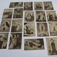 Postales: P- 6039. COLECCION DE 18 POSTALES LA BEATA TERESITA DEL NIÑO JESUS.. Lote 57880452
