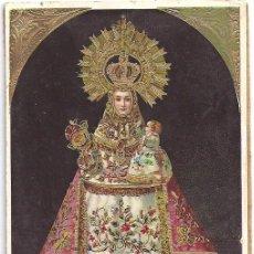 Postales: ANTIGUA FOTO POSTAL DE LA VIRGEN DE COVADONGA DEL AÑO 1910. Lote 57910211