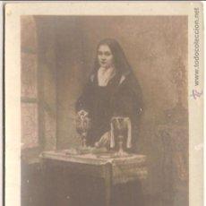 Postales: ANTIGUA TARJETA POSTAL, SOR TERESA DEL NIÑO JESUS, LA SIERVA DE DIOS - SIN CIRCULAR. Lote 58257676