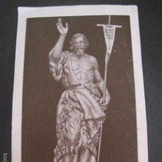 Postales: ESTAMPA RELIGIOSA ANTIGUA SAN JUAN BAUTISTA. Lote 58293862