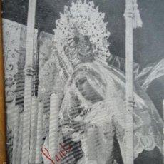 Postales: ITINERARIOS - ANTIGUO ITINERARIO HORARIO DE SEMANA SANTA CADIZ 1957 . Lote 58422714