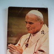 Postales: ESTAMPA PAPA JUAN PABLO II - 1980. Lote 58449334