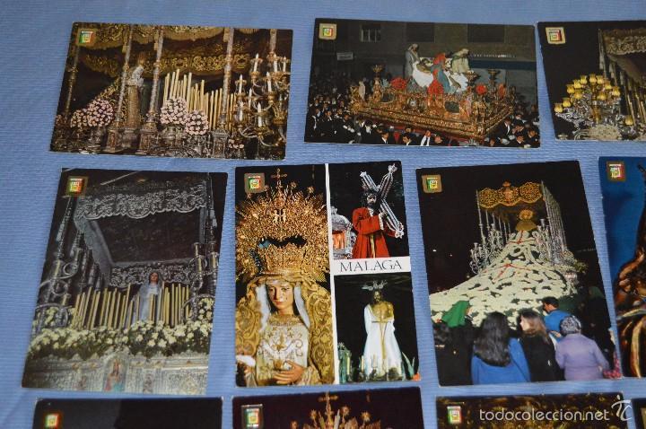 Postales: Lote 21 postales Sin circular - SEMANA SANTA DE MÁLAGA - VARIADAS - Muy buen estado - Foto 2 - 71833083