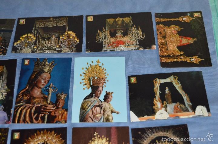 Postales: Lote 21 postales Sin circular - SEMANA SANTA DE MÁLAGA - VARIADAS - Muy buen estado - Foto 3 - 71833083