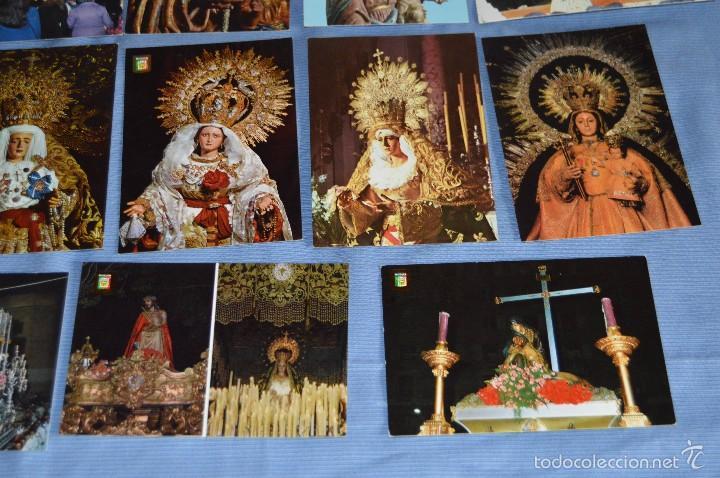 Postales: Lote 21 postales Sin circular - SEMANA SANTA DE MÁLAGA - VARIADAS - Muy buen estado - Foto 4 - 71833083