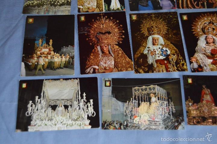 Postales: Lote 21 postales Sin circular - SEMANA SANTA DE MÁLAGA - VARIADAS - Muy buen estado - Foto 5 - 71833083