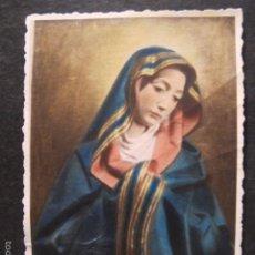 Postales: FOTOGRAFIA RELIGIOSA ANTIGUA VIRGEN INMACULADA. Lote 58505016