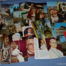 Postales: LOTE MÁS DE 80 POSTALES VARIADAS, SIN CIRCULAR, TEMAS RELIGIOSOS, ARTE Y RELACIONADOS ¡MIRAR FOTOS!. Lote 59116590