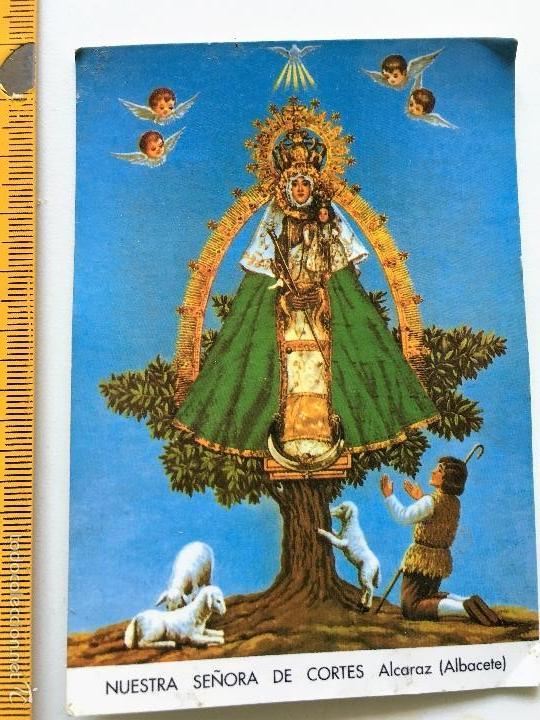 ESPANPITA NUESTRA SEÑORA DE CORTES ALCARAZ (ALBACETE) (Postales - Postales Temáticas - Religiosas y Recordatorios)