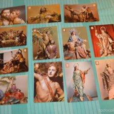 Postales: LOTE DE 12 POSTALES - TALLAS RELIGIOSAS - MURCIA - ANTIGUAS - MIRA LAS FOTOGRAFÍAS . Lote 60453435
