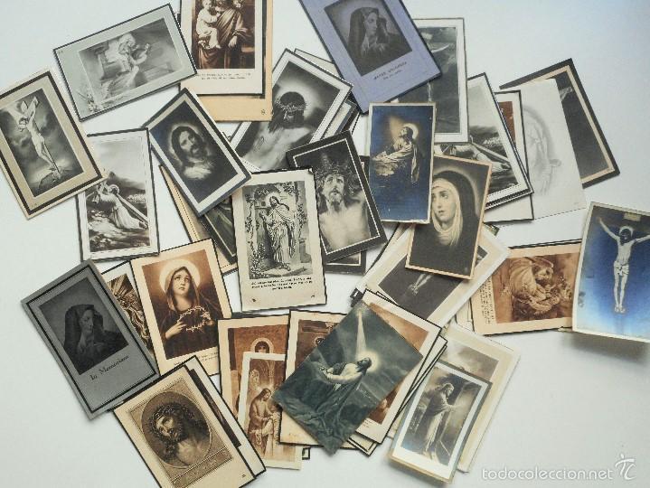 SANTA POLA, ELCHE (ALICANTE) - LOTE 50 RECORDATORIOS FALLECIMIENTOS (Postales - Postales Temáticas - Religiosas y Recordatorios)