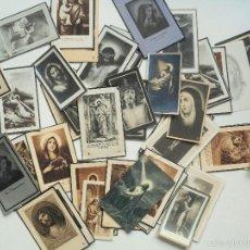 Postales: SANTA POLA, ELCHE (ALICANTE) - LOTE 50 RECORDATORIOS FALLECIMIENTOS. Lote 60870435