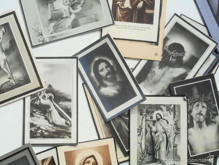 Postales: SANTA POLA, ELCHE (ALICANTE) - LOTE 50 RECORDATORIOS FALLECIMIENTOS - Foto 3 - 60870435