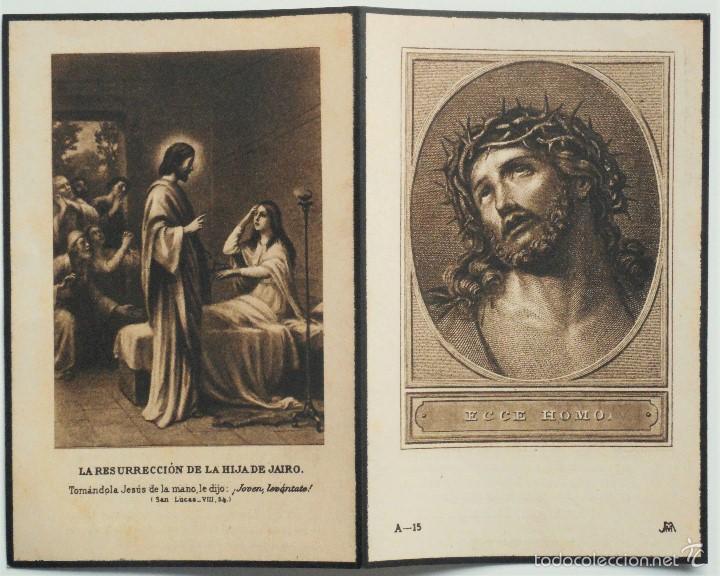 Postales: SANTA POLA, ELCHE (ALICANTE) - LOTE 50 RECORDATORIOS FALLECIMIENTOS - Foto 7 - 60870435