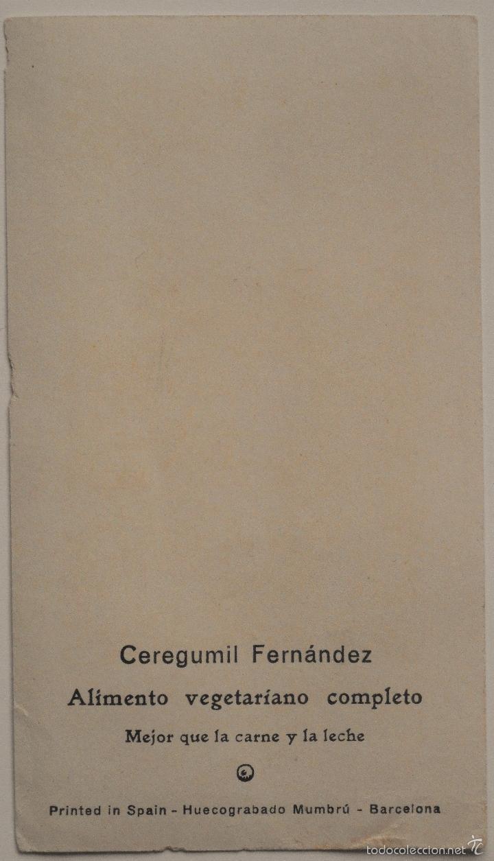 Postales: RECORDATORIO LA PURÍSIMA CONCEPCIÓN DE LOS LIRIOS MILAGROSOS DE ALCOY (ALICANTE) CEREGUMIL FERNÁNDEZ - Foto 2 - 61040595