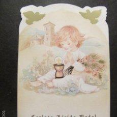 Cartes Postales: ESTAMPA RECUERDO RECORDATORIO COMUNION AÑO 1997. Lote 61167219
