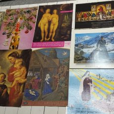 Postales: POSTALES DE TEMAS RELIGIOSOS AÑOS 70. Lote 61217415