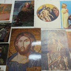 Postales: POSTALES DE TEMAS RELIGIOSOS AÑOS 70. Lote 61218033