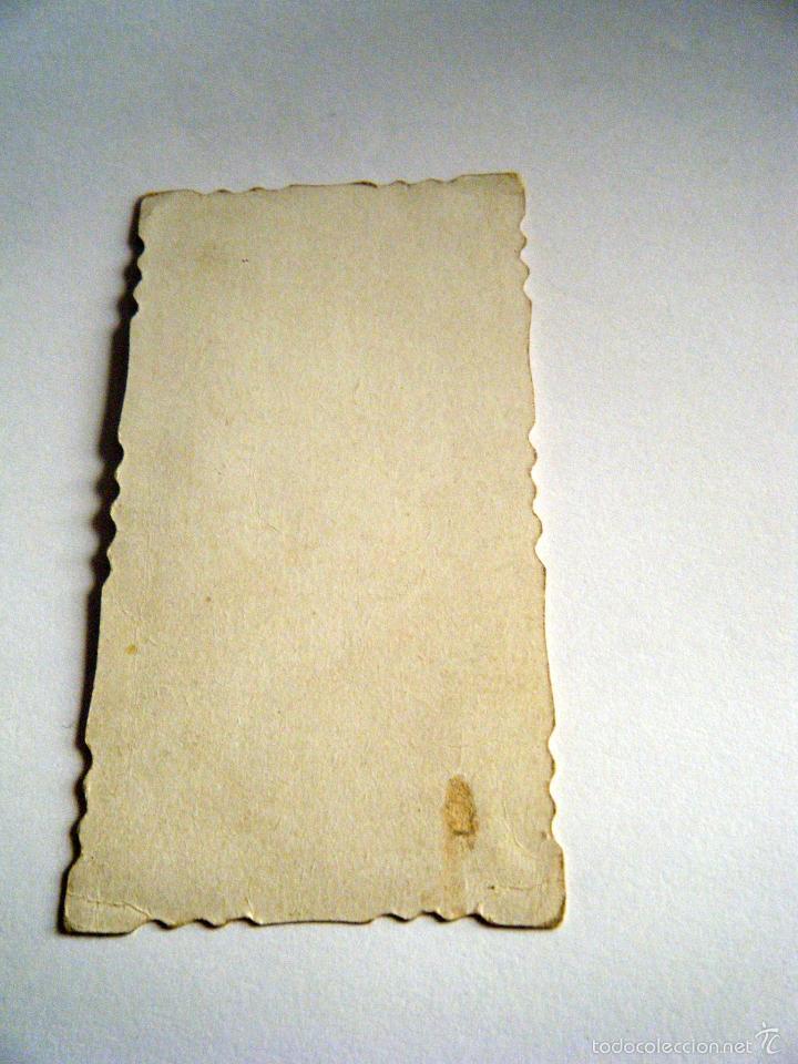 Postales: Estampa religiosa Ecce Corpus Meum. Principios S. XX - Foto 2 - 61363571