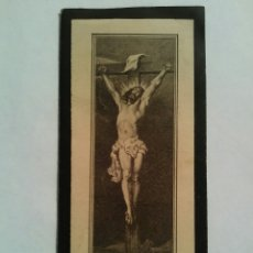 Postales: OBITUARIO DEL AÑO 1911. EN TUS MANOS JESÚS ENCOMIENDO MI ESPIRITU. Lote 62159564