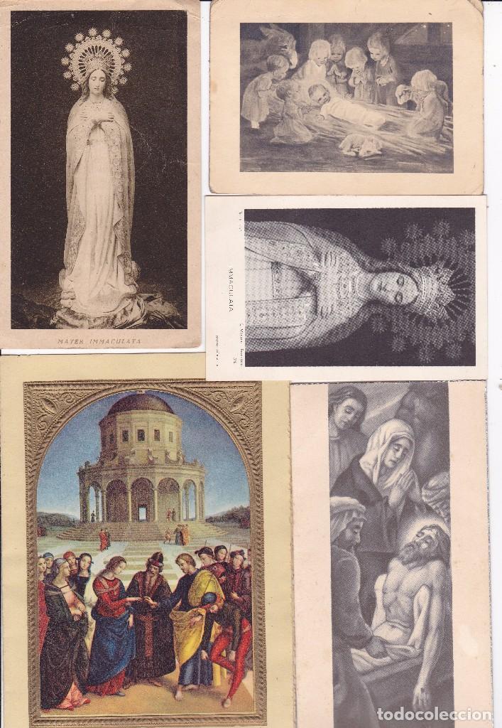 60 RECORDATORIOS VER FOTOS ADICIONALES AÑOS 50 Y 60 (Postales - Postales Temáticas - Religiosas y Recordatorios)