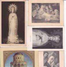 Postales: 60 RECORDATORIOS VER FOTOS ADICIONALES AÑOS 50 Y 60. Lote 62245028