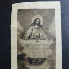Postales: ESTAMPA RECORDATORIO COMUNION 1926. Lote 62529464